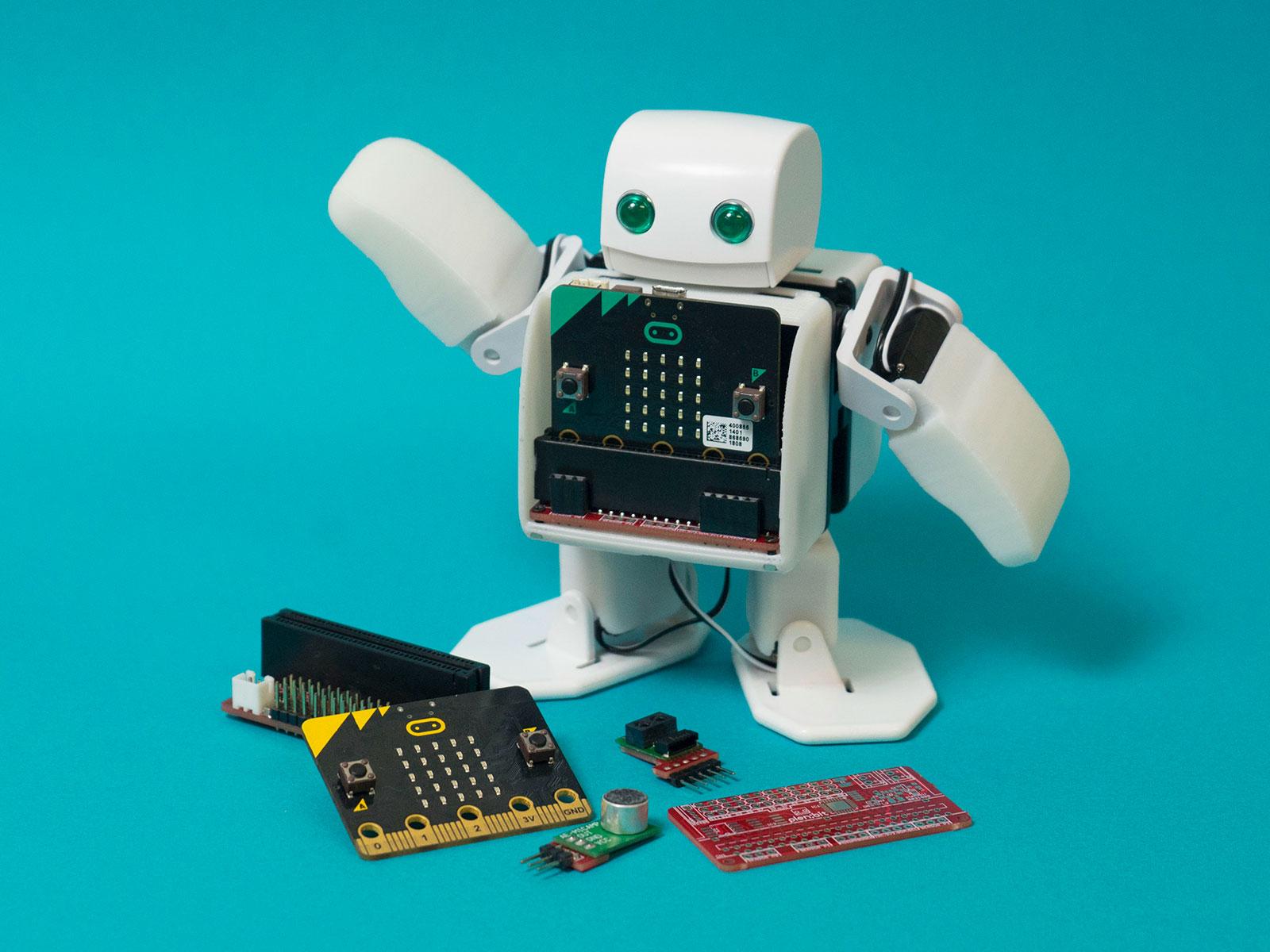 開発者とロボットを組み立て&プログラミング!未来ものづくり教室 @ CREATIVE BOX